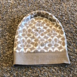 Coach winter beanie hat
